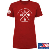 Men of Arms Apparel Ladies Patrick Henry Revolution T-Shirt T-Shirts SMALL / Red by Ballistic Ink - Made in America USA