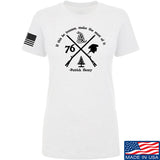 Men of Arms Apparel Ladies Patrick Henry Revolution T-Shirt T-Shirts SMALL / White by Ballistic Ink - Made in America USA