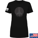 Men of Arms Apparel Ladies Peace And Quiet T-Shirt T-Shirts SMALL / Black by Ballistic Ink - Made in America USA
