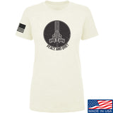 Men of Arms Apparel Ladies Peace And Quiet T-Shirt T-Shirts SMALL / Cream by Ballistic Ink - Made in America USA