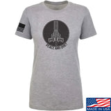 Men of Arms Apparel Ladies Peace And Quiet T-Shirt T-Shirts SMALL / Light Grey by Ballistic Ink - Made in America USA