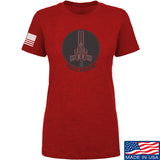 Men of Arms Apparel Ladies Peace And Quiet T-Shirt T-Shirts SMALL / Red by Ballistic Ink - Made in America USA