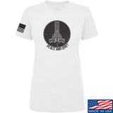 Men of Arms Apparel Ladies Peace And Quiet T-Shirt T-Shirts SMALL / White by Ballistic Ink - Made in America USA