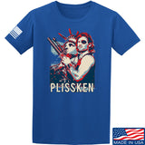 Men of Arms Apparel Plissken T-Shirt T-Shirts Small / Blue by Ballistic Ink - Made in America USA