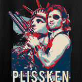 Men of Arms Apparel Ladies Plissken V-Neck T-Shirts, V-Neck [variant_title] by Ballistic Ink - Made in America USA