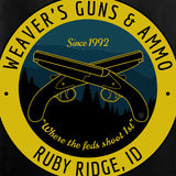 Men of Arms Apparel Randy Weaver's Guns And Ammo T-Shirt T-Shirts [variant_title] by Ballistic Ink - Made in America USA