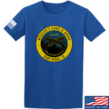 Men of Arms Apparel Randy Weaver's Guns And Ammo T-Shirt T-Shirts Small / Blue by Ballistic Ink - Made in America USA