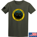 Men of Arms Apparel Randy Weaver's Guns And Ammo T-Shirt T-Shirts Small / Military Green by Ballistic Ink - Made in America USA