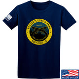 Men of Arms Apparel Randy Weaver's Guns And Ammo T-Shirt T-Shirts Small / Navy by Ballistic Ink - Made in America USA