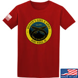 Men of Arms Apparel Randy Weaver's Guns And Ammo T-Shirt T-Shirts Small / Red by Ballistic Ink - Made in America USA