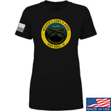 Men of Arms Apparel Ladies Randy Weaver's Guns And Ammo T-Shirt T-Shirts SMALL / Black by Ballistic Ink - Made in America USA