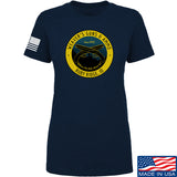 Men of Arms Apparel Ladies Randy Weaver's Guns And Ammo T-Shirt T-Shirts SMALL / Navy by Ballistic Ink - Made in America USA