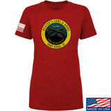 Men of Arms Apparel Ladies Randy Weaver's Guns And Ammo T-Shirt T-Shirts SMALL / Red by Ballistic Ink - Made in America USA
