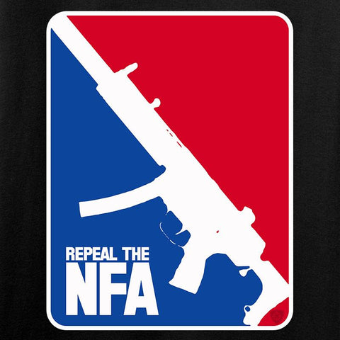 Men of Arms Apparel Repeal the NFA T-Shirt T-Shirts [variant_title] by Ballistic Ink - Made in America USA