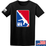 Men of Arms Apparel Repeal the NFA T-Shirt T-Shirts Small / Black by Ballistic Ink - Made in America USA