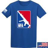 Men of Arms Apparel Repeal the NFA T-Shirt T-Shirts Small / Blue by Ballistic Ink - Made in America USA