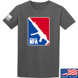 Men of Arms Apparel Repeal the NFA T-Shirt T-Shirts Small / Charcoal by Ballistic Ink - Made in America USA