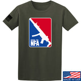 Men of Arms Apparel Repeal the NFA T-Shirt T-Shirts Small / Military Green by Ballistic Ink - Made in America USA