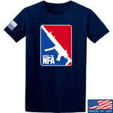 Men of Arms Apparel Repeal the NFA T-Shirt T-Shirts Small / Navy by Ballistic Ink - Made in America USA