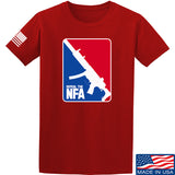 Men of Arms Apparel Repeal the NFA T-Shirt T-Shirts Small / Red by Ballistic Ink - Made in America USA