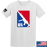 Men of Arms Apparel Repeal the NFA T-Shirt T-Shirts Small / White by Ballistic Ink - Made in America USA