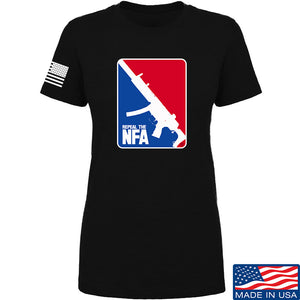 Men of Arms Apparel Ladies Repeal the NFA T-Shirt T-Shirts SMALL / Charcoal by Ballistic Ink - Made in America USA