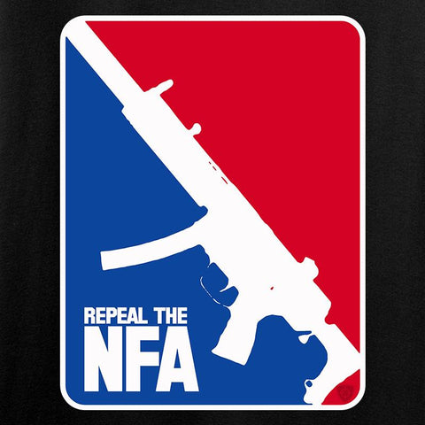 Men of Arms Apparel Ladies Repeal the NFA V-Neck T-Shirts, V-Neck [variant_title] by Ballistic Ink - Made in America USA