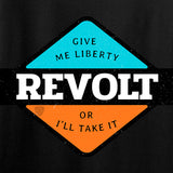Men of Arms Apparel Revolt Give Me Liberty T-Shirt T-Shirts [variant_title] by Ballistic Ink - Made in America USA