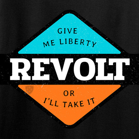 Men of Arms Apparel Ladies Revolt Give Me Liberty T-Shirt T-Shirts [variant_title] by Ballistic Ink - Made in America USA