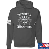 Men of Arms Apparel School of GUNWT Hoodie Hoodies Small / Charcoal by Ballistic Ink - Made in America USA