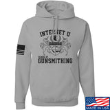 Men of Arms Apparel School of GUNWT Hoodie Hoodies Small / Light Grey by Ballistic Ink - Made in America USA