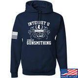 Men of Arms Apparel School of GUNWT Hoodie Hoodies Small / Navy by Ballistic Ink - Made in America USA