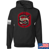 Men of Arms Apparel Sic Semper Hoodie Hoodies Small / Black by Ballistic Ink - Made in America USA