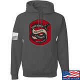 Men of Arms Apparel Sic Semper Hoodie Hoodies Small / Charcoal by Ballistic Ink - Made in America USA