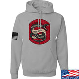 Men of Arms Apparel Sic Semper Hoodie Hoodies Small / Light Grey by Ballistic Ink - Made in America USA