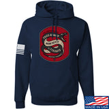Men of Arms Apparel Sic Semper Hoodie Hoodies Small / Navy by Ballistic Ink - Made in America USA