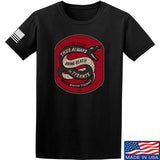 Men of Arms Apparel Sic Semper T-Shirt T-Shirts Small / Black by Ballistic Ink - Made in America USA