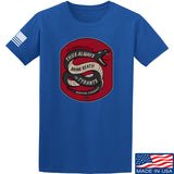 Men of Arms Apparel Sic Semper T-Shirt T-Shirts Small / Blue by Ballistic Ink - Made in America USA