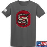 Men of Arms Apparel Sic Semper T-Shirt T-Shirts Small / Charcoal by Ballistic Ink - Made in America USA