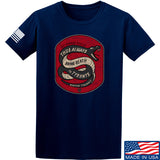 Men of Arms Apparel Sic Semper T-Shirt T-Shirts Small / Navy by Ballistic Ink - Made in America USA