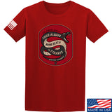 Men of Arms Apparel Sic Semper T-Shirt T-Shirts Small / Red by Ballistic Ink - Made in America USA