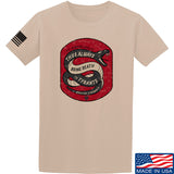 Men of Arms Apparel Sic Semper T-Shirt T-Shirts Small / Sand by Ballistic Ink - Made in America USA