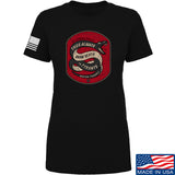 Men of Arms Apparel Ladies Sic Semper T-Shirt T-Shirts SMALL / Black by Ballistic Ink - Made in America USA