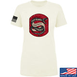 Men of Arms Apparel Ladies Sic Semper T-Shirt T-Shirts SMALL / Cream by Ballistic Ink - Made in America USA