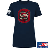 Men of Arms Apparel Ladies Sic Semper T-Shirt T-Shirts SMALL / Navy by Ballistic Ink - Made in America USA