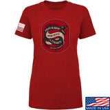 Men of Arms Apparel Ladies Sic Semper T-Shirt T-Shirts SMALL / Red by Ballistic Ink - Made in America USA