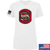 Men of Arms Apparel Ladies Sic Semper T-Shirt T-Shirts SMALL / White by Ballistic Ink - Made in America USA