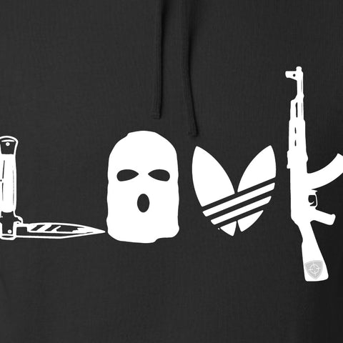 Men of Arms Apparel Slav Love AK Hoodie Hoodies [variant_title] by Ballistic Ink - Made in America USA