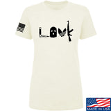 Men of Arms Apparel Ladies Slav Love AK T-Shirt T-Shirts SMALL / Cream by Ballistic Ink - Made in America USA