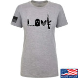 Men of Arms Apparel Ladies Slav Love AK T-Shirt T-Shirts SMALL / Light Grey by Ballistic Ink - Made in America USA